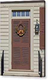 Doors Of Williamsburg 80 Acrylic Print