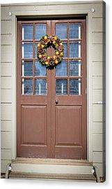 Doors Of Williamsburg 81 Acrylic Print