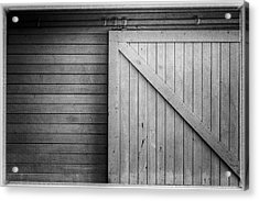 Doors Acrylic Print by Wade Brooks