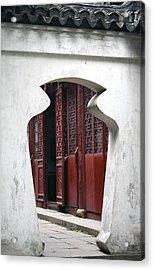 Doorway Acrylic Print by Erika Lesnjak-Wenzel
