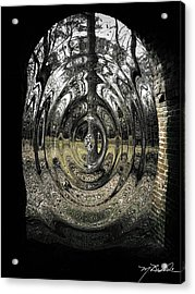 Doorway Acrylic Print by Melissa Wyatt