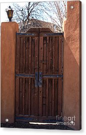 Doorway New Mexico Acrylic Print