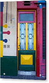 Doors Of San Telmo, Argentina Acrylic Print