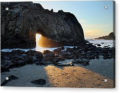 Doorway To Heaven In Big Sur Acrylic Print