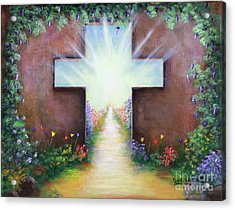 Doorway To Heaven Acrylic Print by Kristi Roberts