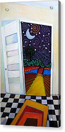 Doorway To Tomorrow Acrylic Print by Anne Nye