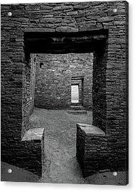 Doorways Acrylic Print by Joseph Smith