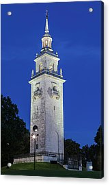 Acrylic Print featuring the photograph Dorchester Heights Monument by Juergen Roth
