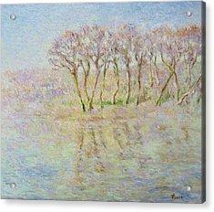 Dordogne, Beynac Et Cazenac Acrylic Print by Pierre Van Dijk