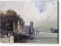 Dordrecht Acrylic Print by Thomas Shotter Boys