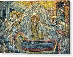 Dormition Of The Virgin Acrylic Print