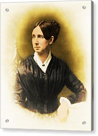 Dorothea Dix, American Reformer Acrylic Print by Photo Researchers