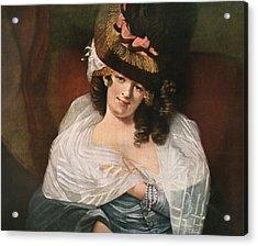 Dorothea Jordan, 1761 Acrylic Print by Vintage Design Pics