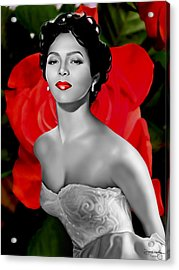 Dorothy Dandridge Acrylic Print by Davonte Bailey