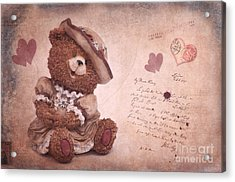 Dorothy In Love Acrylic Print by Angela Doelling AD DESIGN Photo and PhotoArt