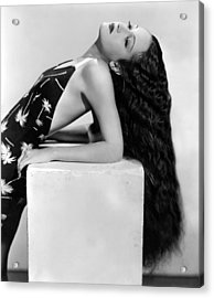 Dorothy Lamour, Paramount Pictures, 1936 Acrylic Print by Everett