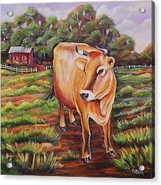 Dorothy Louise Acrylic Print by Patricia Piffath