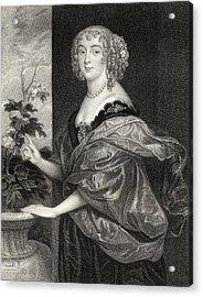 Dorothy Sidney Countess Of Sunderland Acrylic Print
