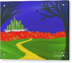 Dorothy's Dream Acrylic Print by Roxy Riou