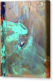 Dos Acrylic Print by Anna Villarreal Garbis