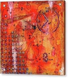 Dot Of Time Acrylic Print