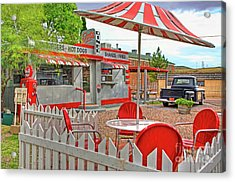 Dot's Diner In Bisbee Arizona Acrylic Print