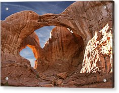 Double Arch In Late Afternoon Acrylic Print by Mike McGlothlen