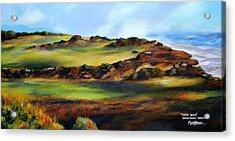 Double Bogey Acrylic Print by Marti Green
