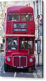Double Decker  Acrylic Print