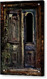 Double Door Acrylic Print by Sari Sauls
