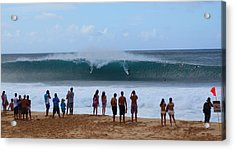 Double Drop Acrylic Print by Brian Governale