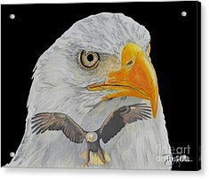 Double Eagle Acrylic Print by Bill Richards