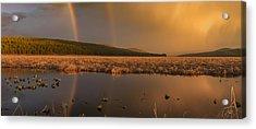 Double Rainbow Light Acrylic Print