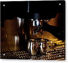 Double Shot Of Espresso 2 Acrylic Print