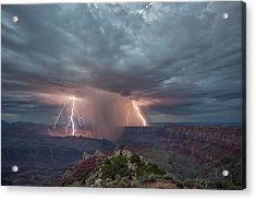 Double Strike Canyon Acrylic Print