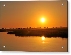 Double Sun Acrylic Print by Joe  Burns