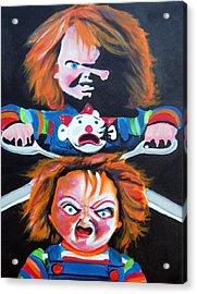 Double Trouble  Acrylic Print by Ottoniel Lima
