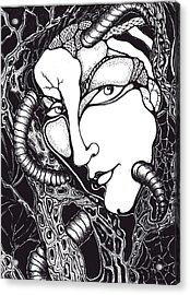 Doubt Acrylic Print by Rae Chichilnitsky