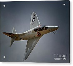 Douglas A4 Skyhawk 2011 Chino Planes Of Fame Air Showe Acrylic Print by Gus McCrea