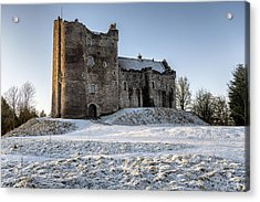 Doune Castle In Central Scotland Acrylic Print by Jeremy Lavender Photography