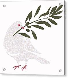 Dove Of Peace Acrylic Print