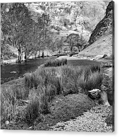 Dovedale, Peak District Uk Acrylic Print by John Edwards