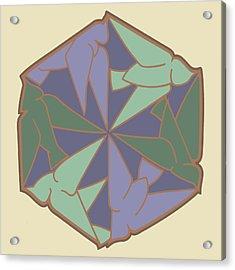 Doves Logo Color Acrylic Print