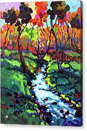 Down By The Little Creek Acrylic Print