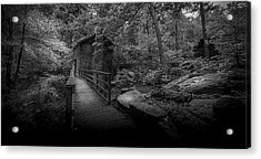 Down By The Mill-bw Acrylic Print by Marvin Spates