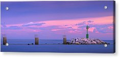 Down By The Sea Acrylic Print by Giovanni Allievi