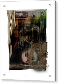 Down Acrylic Print by Nuff