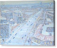 Down Pennsylvania Avenue Acrylic Print by Len Stomski