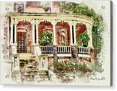 Acrylic Print featuring the digital art Down South by Barry Jones