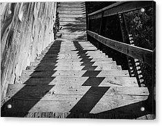 Down Stairs At Bannack Acrylic Print